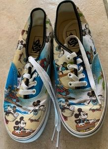 Disney mickey minnie mouse vans shoes